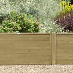 Forest Forest Garden Pressure Treated Horizontal Tongue And Groove Fence Panel 6' x 4' - 95399 - from Toolstation