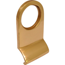 Cylinder Pull Polished Brass - 95400 - from Toolstation