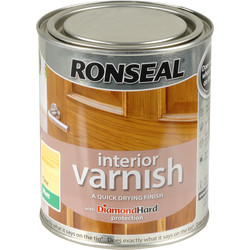 Ronseal Ronseal Interior Varnish 750ml Matt Clear - 95505 - from Toolstation