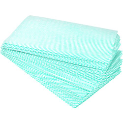 Maxipro Cleaning Cloths Green - 95510 - from Toolstation