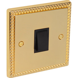 Axiom  Georgian Switch 20A Double Pole - 95547 - from Toolstation