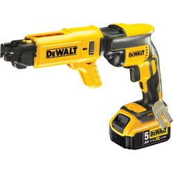 DeWalt DeWalt DCF620P2K-GB 18V XR Li-Ion Brushless Collated Drywall Screwdriver 2 x 5.0Ah - 95594 - from Toolstation