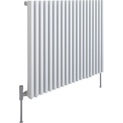 Kudox Kudox Xylo White Designer Radiator 600 x 780mm 2556Btu - 95595 - from Toolstation