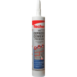 "Fischer DEC ""Premium"" Express Ready Mixed Cement Cartridge Grey"