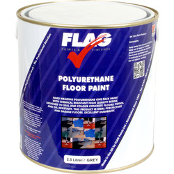 Flag Polyurethane Floor Paint Grey 2.5L - 95663 - from Toolstation
