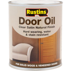 Rustins Rustins Clear Door Oil Satin 750ml - 95716 - from Toolstation