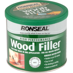 Ronseal Ronseal High Performance Wood Filler White 550g - 95718 - from Toolstation