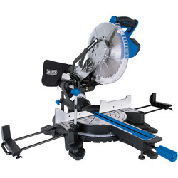 Draper Draper 255mm Sliding Compound Mitre Saw with Laser Cutting Guide 230V - 95745 - from Toolstation