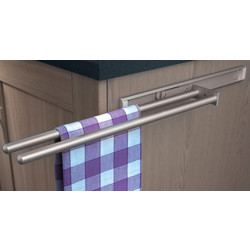 Hafele Hafele Towel Rail 2 Rail - 95804 - from Toolstation