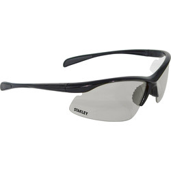 Stanley 10-Base Curved Half-Frame Safety Glasses Indoor / Outdoor Lens