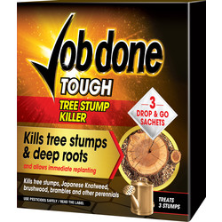 Job Done Tough Tree Stump Killer 3 Sachets