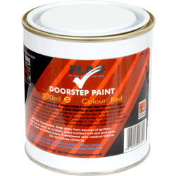 Flag Doorstep Paint 500ml Red - 95909 - from Toolstation