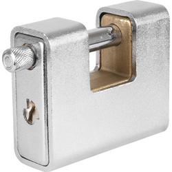 Squire Squire Watchman Armoured Warehouse Padlock 80 x 11 x 29mm - 95932 - from Toolstation