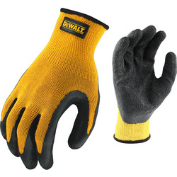 DeWalt Latex Coated Gripper Gloves
