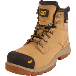 CAT Caterpillar Spiro Safety Boots Honey Size 6 - 96021 - from Toolstation