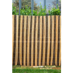 Apollo Dual Coloured Willow Screening 2 x 4m - 96181 - from Toolstation