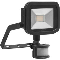 Luceco Luceco LED IP44 PIR Slimline Guardian Floodlight 8W PIR 600lm - 96217 - from Toolstation