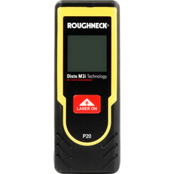 Roughneck Roughneck P20 Laser Distance Measure 20m - 96262 - from Toolstation