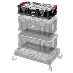 Trend Modular Storage Compact Box with Bins