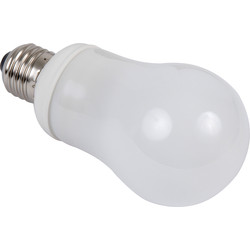 Sylvania Sylvania Energy Saving CFL GLS Lamp T2 11W ES 630lm A - 96298 - from Toolstation