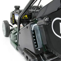 Webb 43cm Self Propelled Rear Roller Petrol Rotary Lawnmower