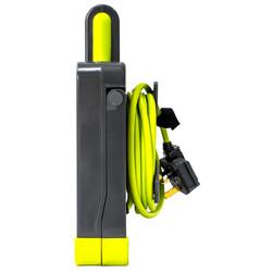 Masterplug Pro XT 5m 4 Socket Extension Lead with LED Work Light