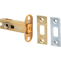 Unbranded Tubular Deadbolt 75mm - 96432 - from Toolstation