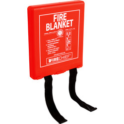 Fire Chief Fire Blanket 1.1m x 1.1m - 96477 - from Toolstation
