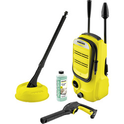 Karcher Karcher K2 Compact Home Pressure Washer 110 bar - 96486 - from Toolstation