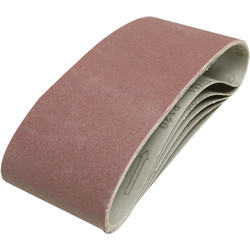 Toolpak Cloth Sanding Belt 100 x 610mm 80 Grit - 96535 - from Toolstation