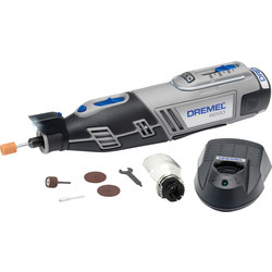Dremel Dremel 8220-1 12V 5 Piece Rotary Multi-Tool Kit 1 x 2.0Ah - 96546 - from Toolstation
