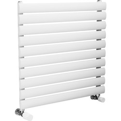 Ximax Ximax Bristol Single Horizontal Designer Radiator 584 x 600mm 1365Btu White - 96555 - from Toolstation