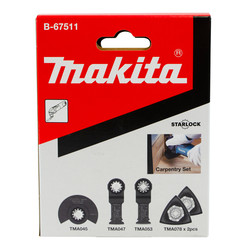 Makita Starlock Carpentry Set