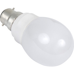 Sylvania Sylvania Energy Saving CFL Golfball Lamp T2 9W BC 450lm A - 96649 - from Toolstation