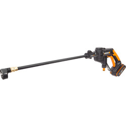 Worx Worx WG625E 20V MAX Li-Ion Hydroshot Cordless Pressure Washer 1 x 2.0Ah - 96650 - from Toolstation