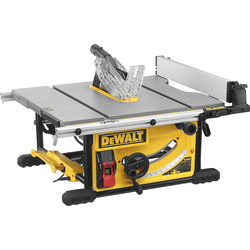DeWalt DeWalt DWE7492 250mm Portable Table Saw 240V - 96704 - from Toolstation