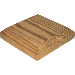 Fence Top Flat 100 x 100mm - 96744 - from Toolstation
