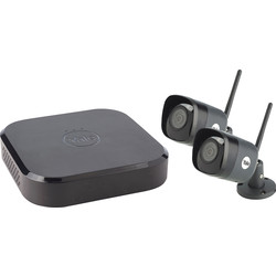 Yale Smart Living Yale Smart Home CCTV WiFi Kit SV-4C-2DB4MX 2 Camera - 96784 - from Toolstation