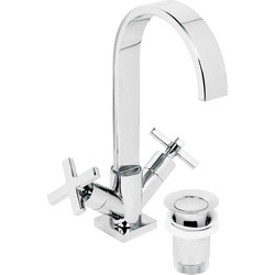 Surf Taps Basin Mixer - 96810 - from Toolstation
