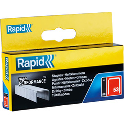 Rapid Rapid 53 Series Galvanised Staples 14mm - 96857 - from Toolstation