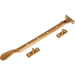 Casement Stay Brass - 96865 - from Toolstation
