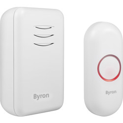 Byron Byron Wireless Portable Doorbell Set DBY-22311 - 96872 - from Toolstation