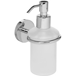 Eclipse Ironmongery Polished Soap Dispenser Chrome - 96914 - from Toolstation