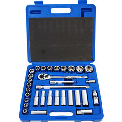 Laser Laser Metric Professional Socket Set  - 96987 - from Toolstation