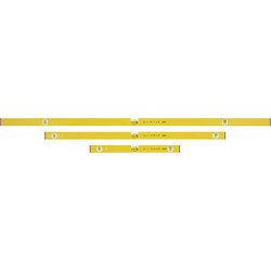 Stabila Stabila 80AS Level set 60,120 and 180cm - 97098 - from Toolstation