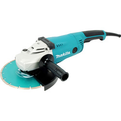 Makita Makita GA9020KD 2000W 230mm Angle Grinder 240V - 97116 - from Toolstation