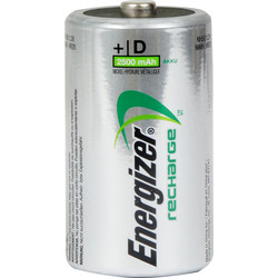 Energizer Power Plus Pre Charged Rechargeable Battery D 2300mAh