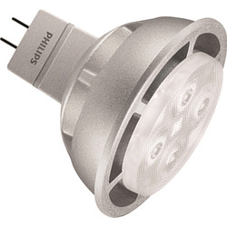 Philips Philips LED 12V Dimmable Lamp MR16 6.3W 380lm A - 97196 - from Toolstation