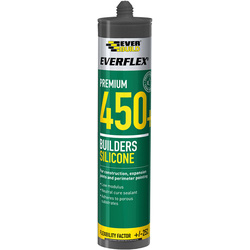 Everbuild Premium Building Silicone 310ml Clear - 97204 - from Toolstation
