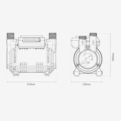 Salamander CT Force Regenerative Twin Shower Pump